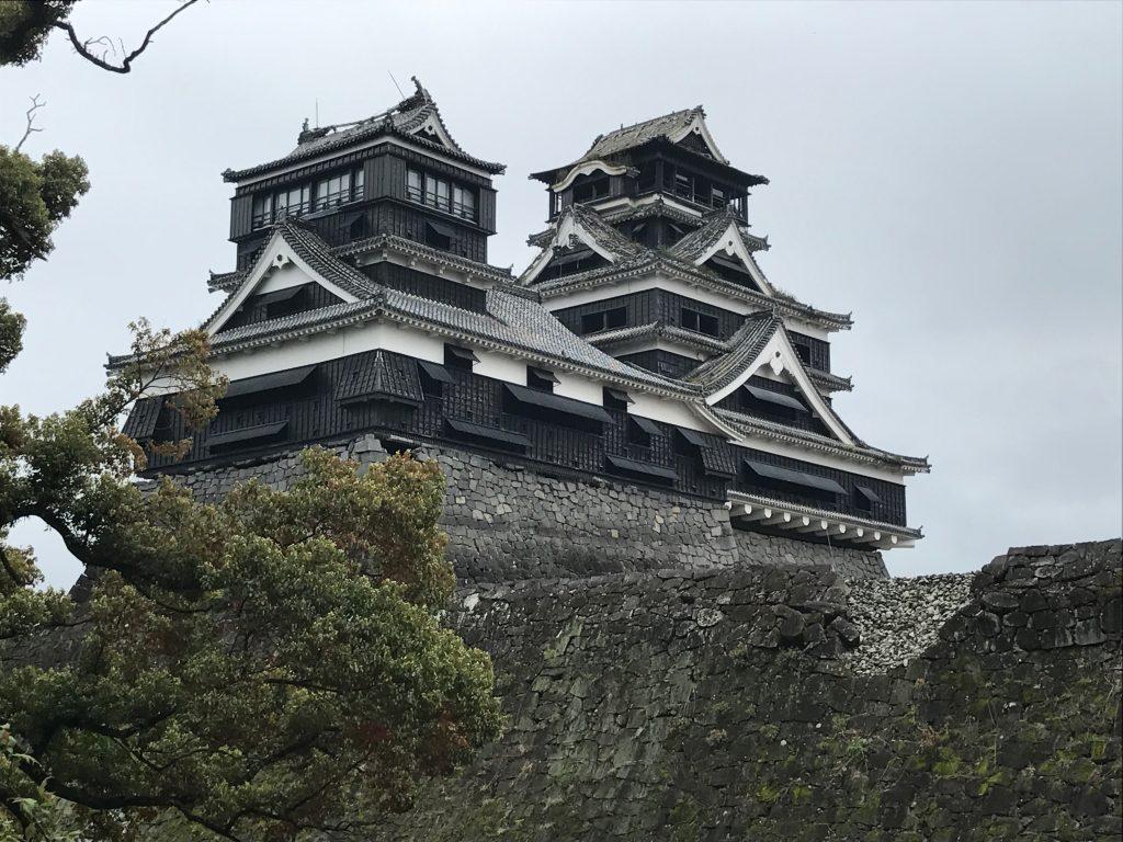 地震から1年の熊本を訪れました