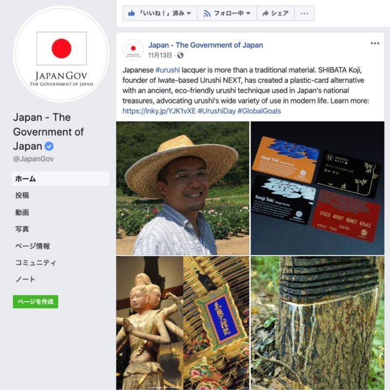 日本政府SNS Japan GovでNPOの取り組みが紹介されました